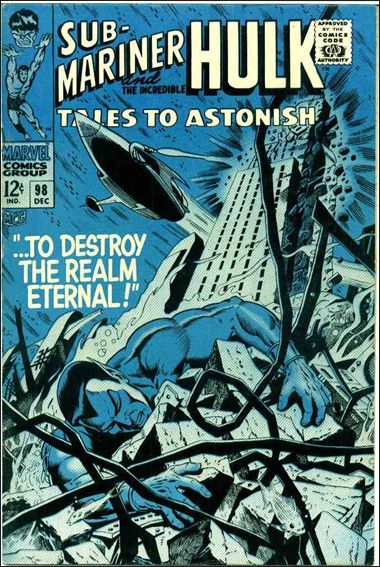 Tales to Astonish (1959) 98-A by Marvel