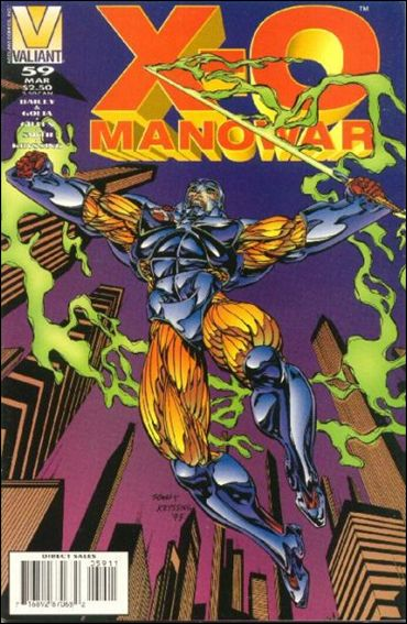 X-O Manowar (1992) 59-A by Valiant