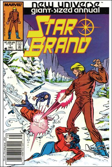 Star Brand Annual 1-A by Marvel