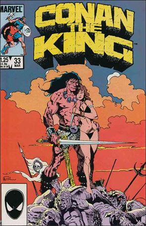 Conan the King 33-A
