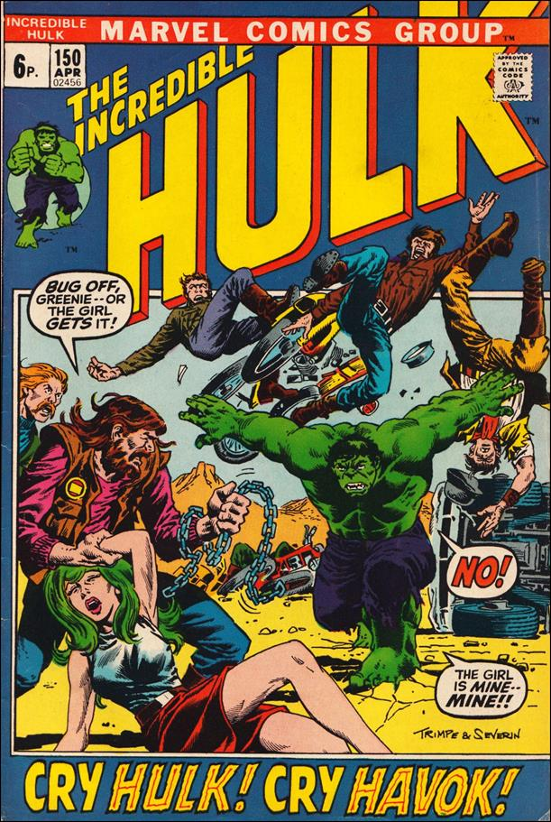 Incredible Hulk (1968) 150-B by Marvel
