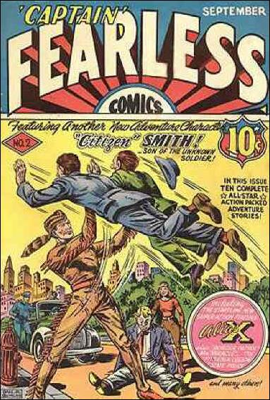 Captain Fearless Comics 2-A by Holyoke
