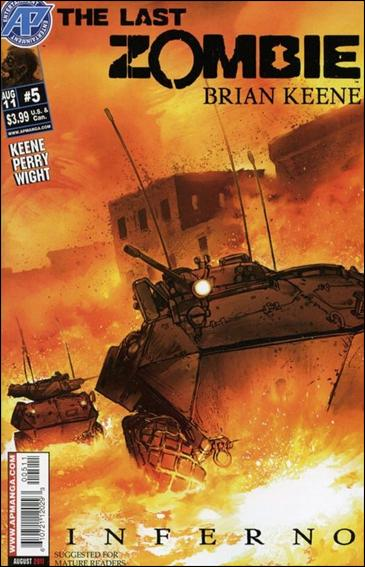 Last Zombie: Inferno 5-A by Antarctic Press