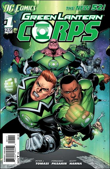Green Lantern Corps (2011) 1-A by DC