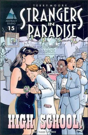 Terry Moore's Strangers in Paradise 15-A by Abstract Studio
