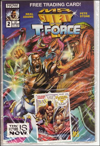 Mr. T and the T-Force 2-C by Now Comics