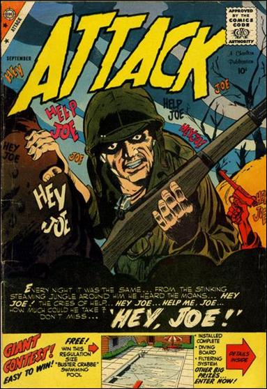 Attack (1958) 59-A by Charlton