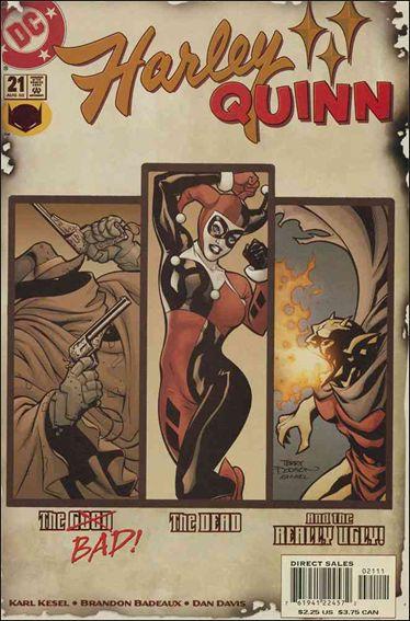 Harley Quinn (2000) 21-A by DC