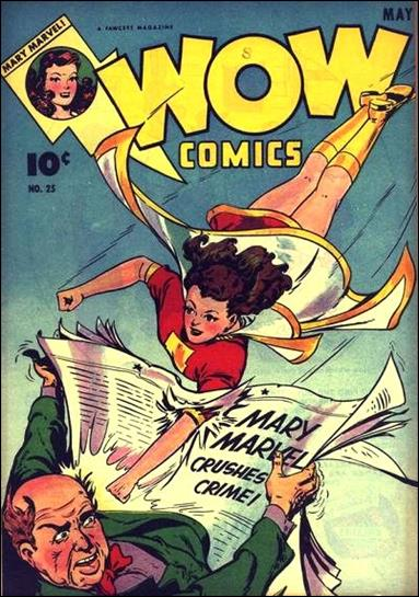 Wow Comics (1940) 25-A by Fawcett