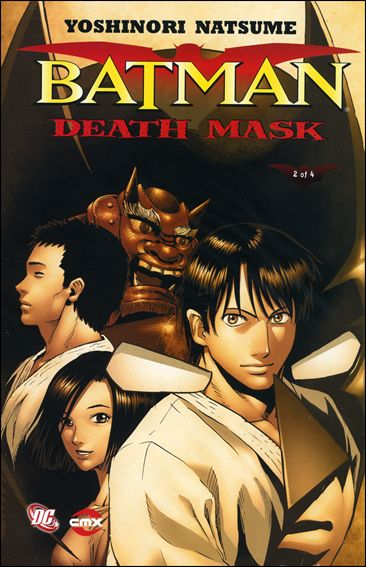 Batman: Death Mask 2-A by CMX