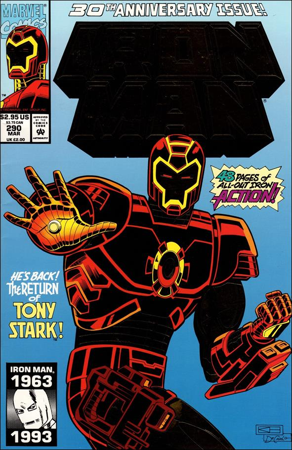 Iron Man (1968) 290-A by Marvel