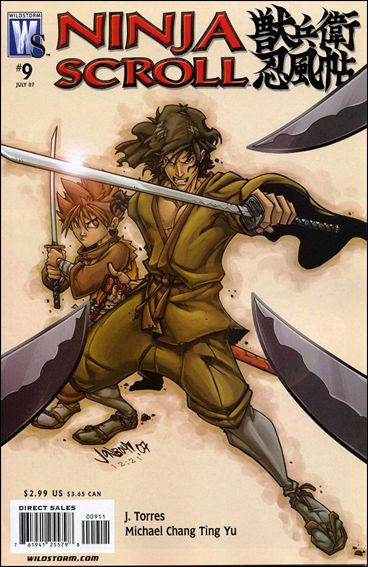 Ninja Scroll 9-A by WildStorm
