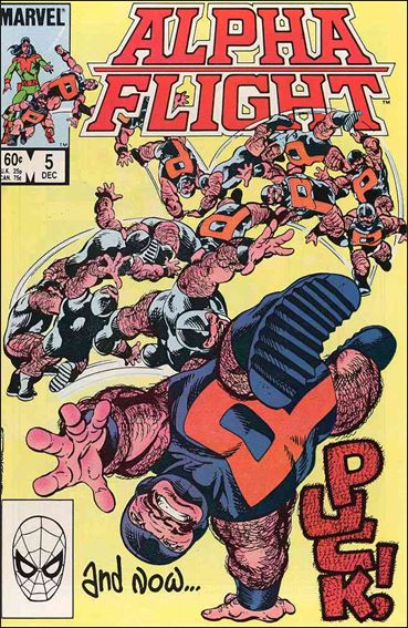 Alpha Flight (1983) 5-A by Marvel