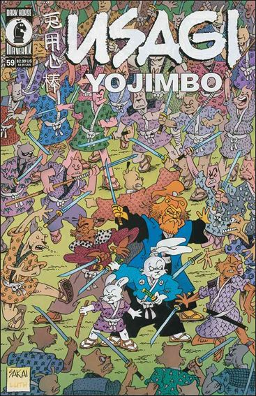 Usagi Yojimbo (1996) 59-A by Dark Horse