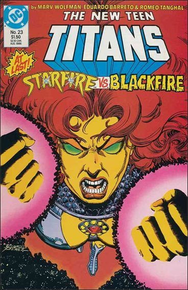 New Teen Titans (1984) 23-A by DC