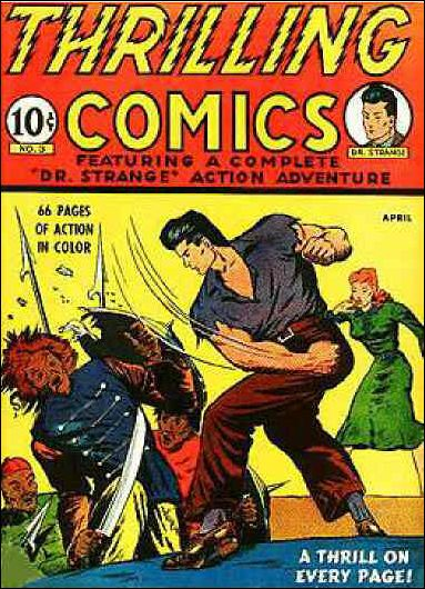 Thrilling Comics (1940) 3-A by Standard