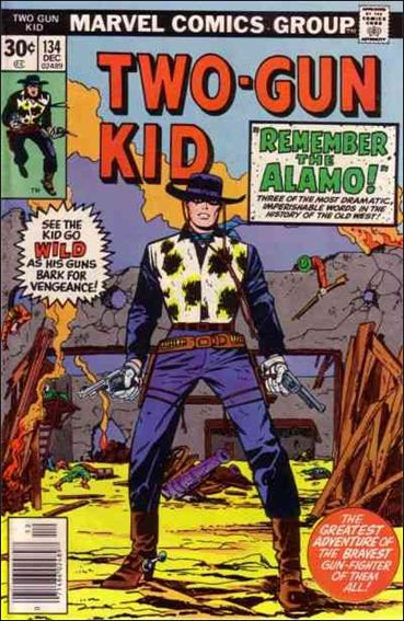 Two-Gun Kid 134-A by Marvel