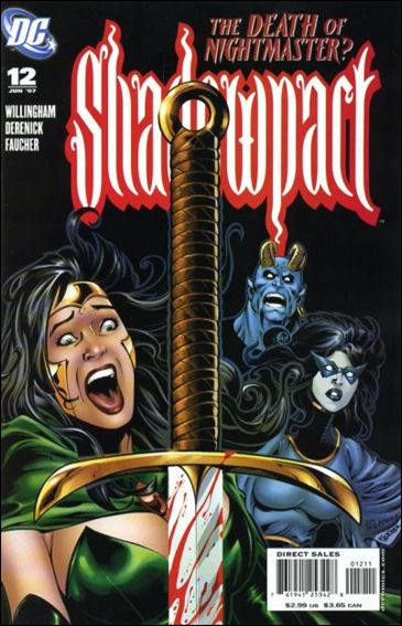 Shadowpact 12-A by DC