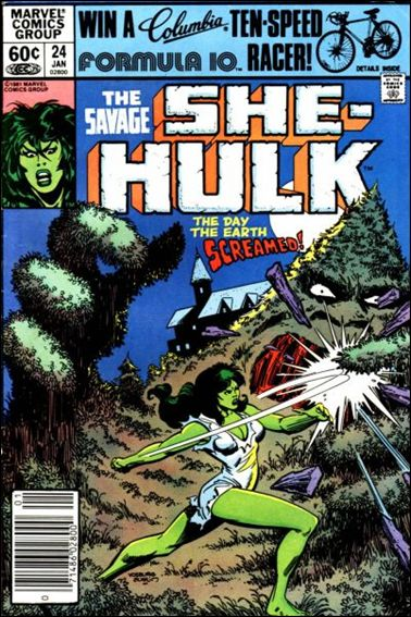 Savage She-Hulk 24-A by Marvel