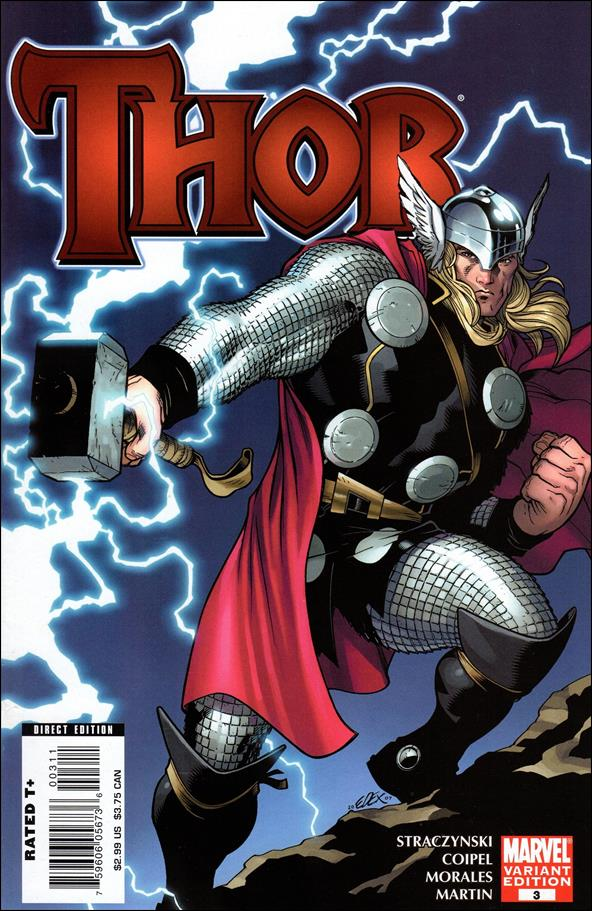 Thor (2007) 3-B by Marvel