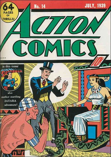 Action Comics (1938) 14-A by DC