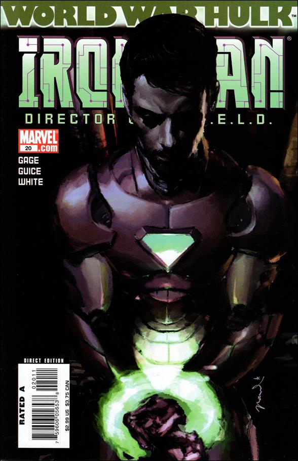 Invincible Iron Man (2005) 20-A by Marvel
