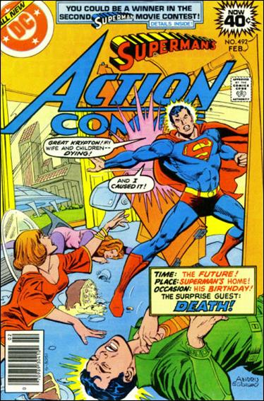 Action Comics (1938) 492-A by DC