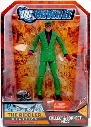 DC Universe Classics (Wave 05) The Riddler by Mattel