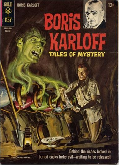 Boris Karloff Tales of Mystery 13-A by Gold Key