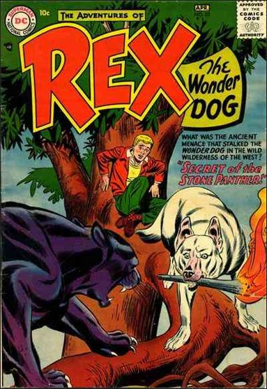 Adventures of Rex the Wonder Dog 32-A by DC