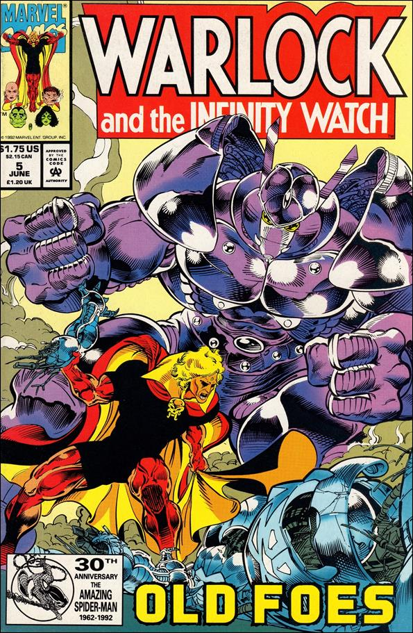 Warlock and the Infinity Watch 5-A by Marvel