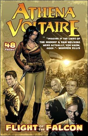 Athena Voltaire: Flight of the Falcon 1-A by Ape Entertainment