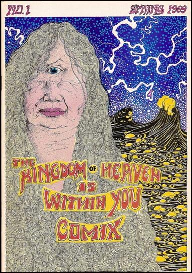 Kingdom of Heaven is Within You Comix 1-A by Print Mint