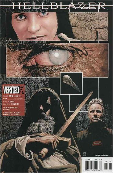 Hellblazer 185-A by Vertigo