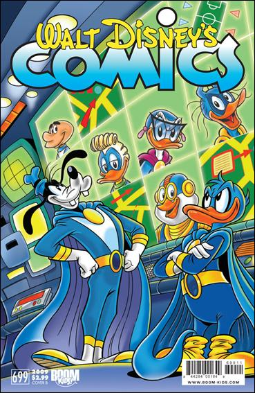 Walt Disney's Comics and Stories (2009) 699-B by IDW