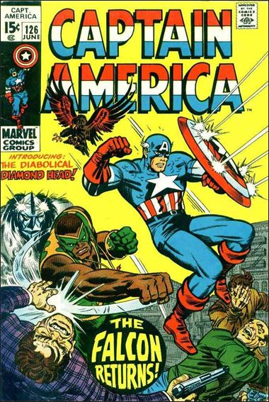 Captain America (1968) 126-A by Marvel