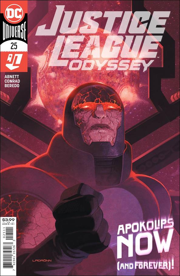 Justice League Odyssey 25-A by DC