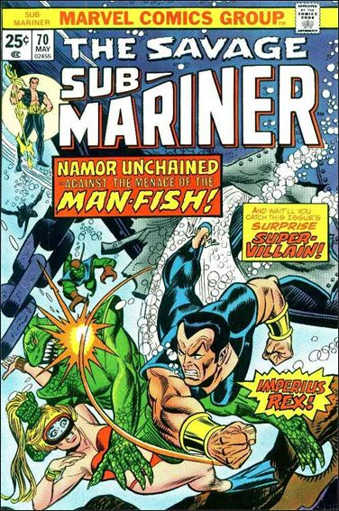 Sub-Mariner (1968) 70-A by Marvel