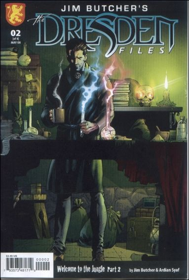 Jim Butcher's The Dresden Files: Welcome to the Jungle 2-A by Dabel Brothers (DB) Productions