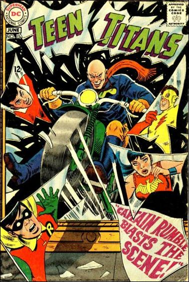 Teen Titans (1966) 15-A by DC