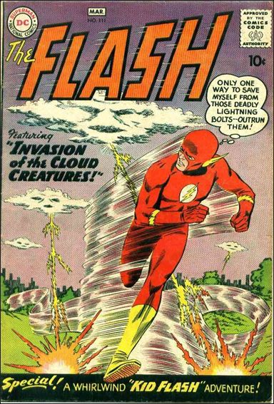 Flash (1959) 111-A by DC