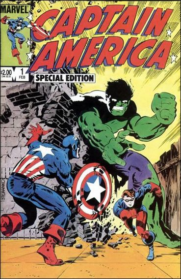 Captain America: Special Edition 1-A by Marvel