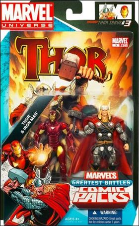 Marvel Universe: Marvel's Greatest Battles (Comic-Packs) Thor and Iron Man