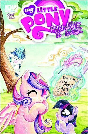 My Little Pony: Friendship is Magic 11-C by IDW