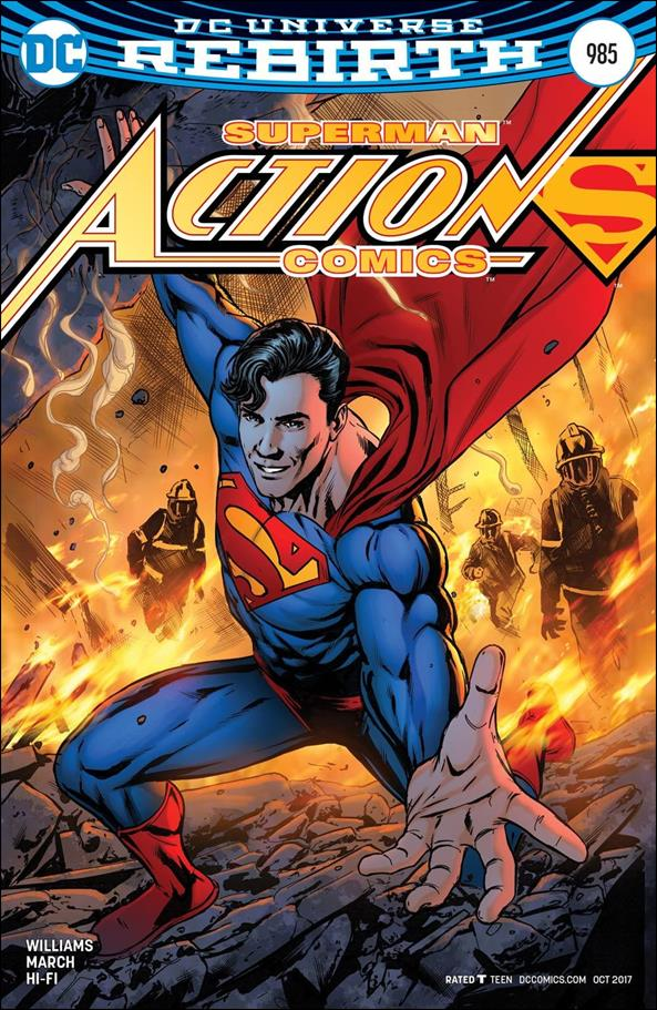Action Comics (1938) 985-B by DC