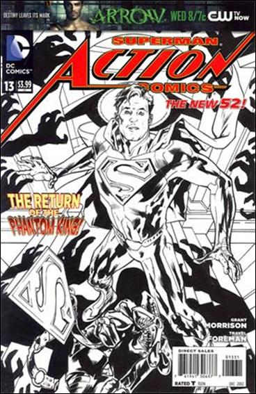 Action Comics (2011) 13-E by DC