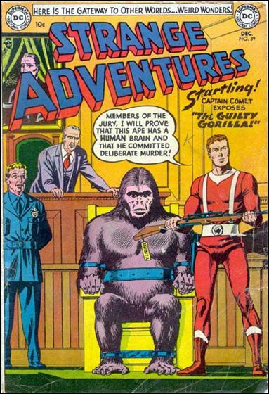 Strange Adventures (1950) 39-A by DC