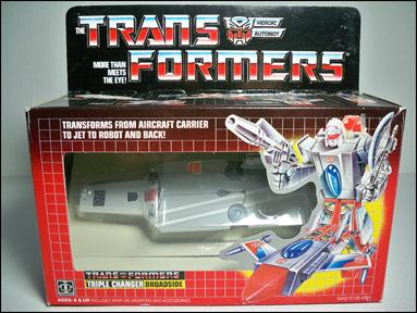 Transformers: More Than Meets the Eye (Generation 1) Broadside (Autobot Triple Changer) by Hasbro
