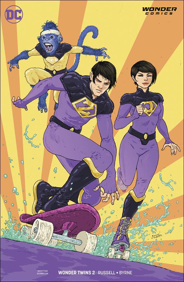 Wonder Twins 2-B by Wonder Comics