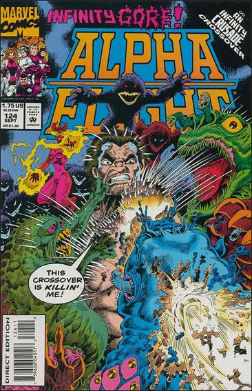 Alpha Flight (1983) 124-A by Marvel